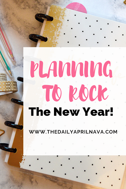 Planning to Rock The New Year: Using a planner to have your best year yet!