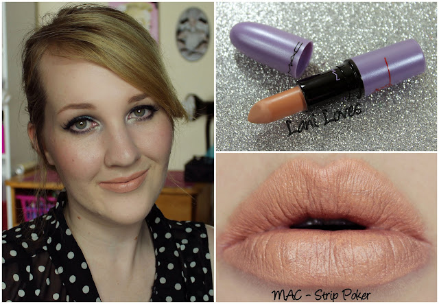 MAC Strip Poker lipstick swatch