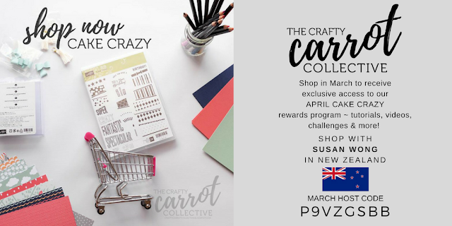 Shop Now CAKE CRAZY for access to our Crafty Carrot April rewards programme