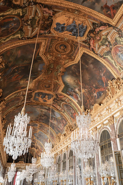 The Room of Mirrors at the Palace of Versailles