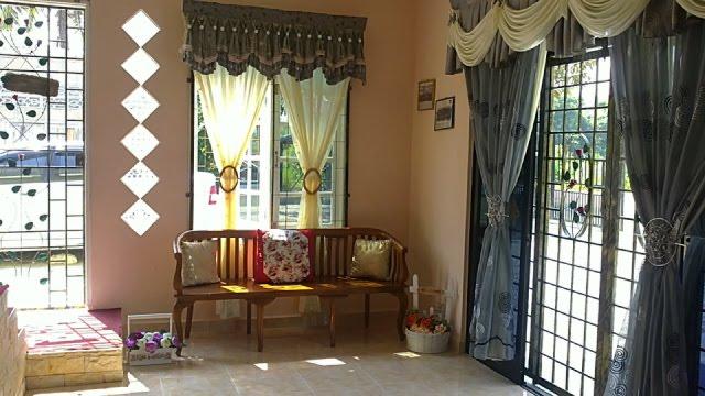 Hiasan Dalaman Ruang Tamu Rumah Kampung Deko Kat Semanis Honey