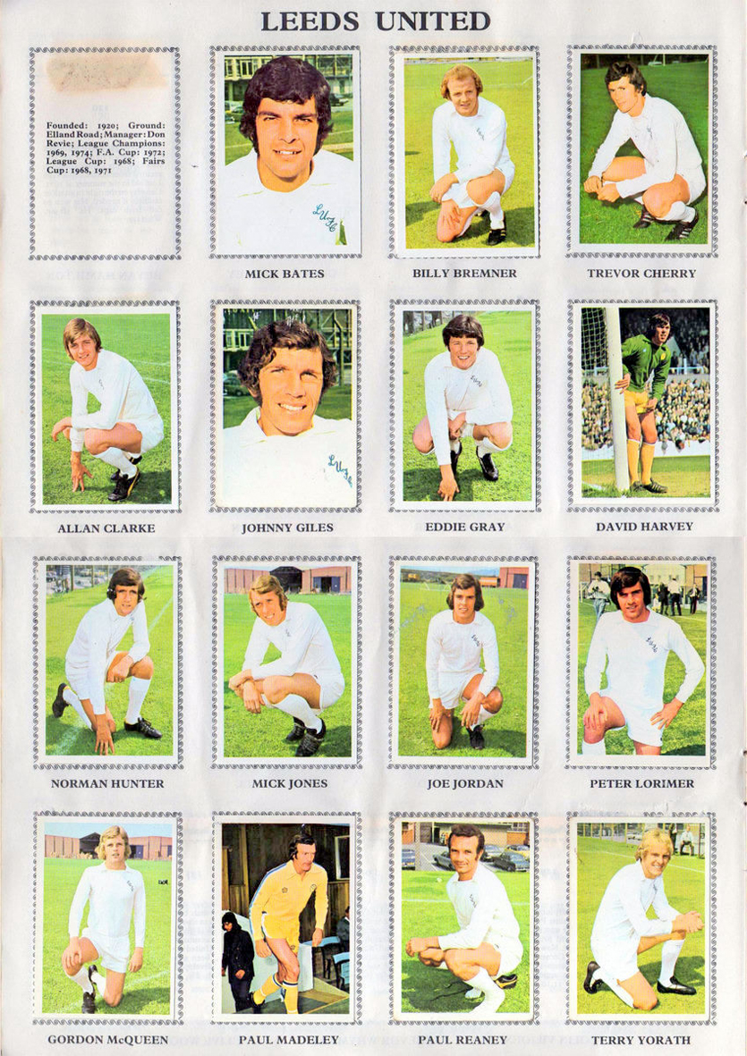 THE VINTAGE FOOTBALL CLUB: LEEDS UNITED 1974-75  By Soccer