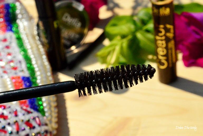 Żelowy korektor do brwi z keratyną Eyebrow Creator Delia Cosmetics - Brązowy