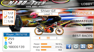 Games Drag Bike 201 m Full version Terbaru