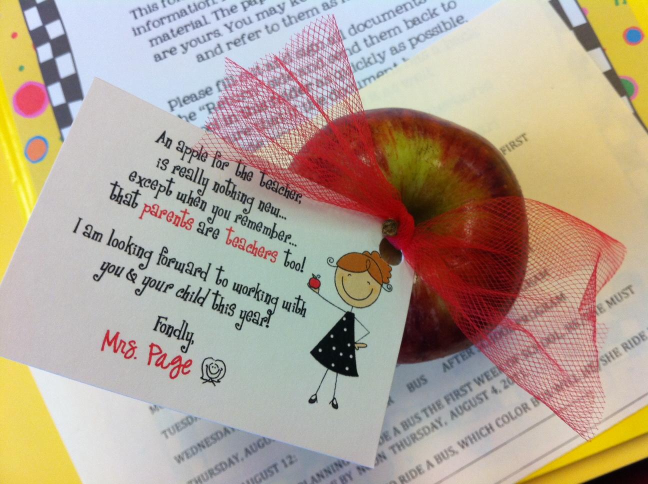 Creative Minds In Education Parent Teacher Night Ideas