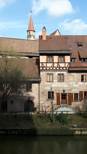 House by the river in Nuremberg
