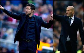 Simeone και Zidane, οι κορυφαίοι προπονητές στον κόσμο σε επίπεδο συλλόγων