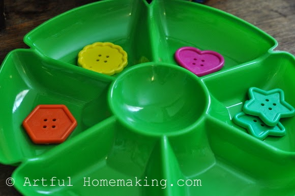Fine Motor Coordination: Keeping Little Ones Hands Busy. Sorting activity