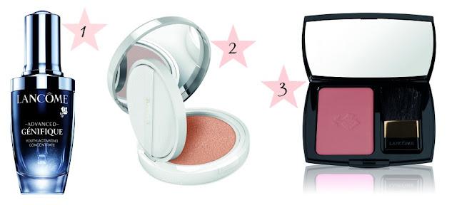 maquillaje de Lâncome