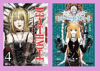 portadas del cómic manga Death note 4: afecto