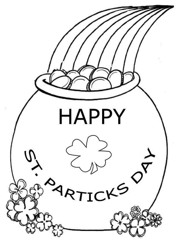 Printable Saint Patrick\'s Day 2016 Coloring Pages For Kids For UK ...