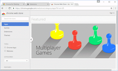 Chrome Web Store Apps and Games for browser