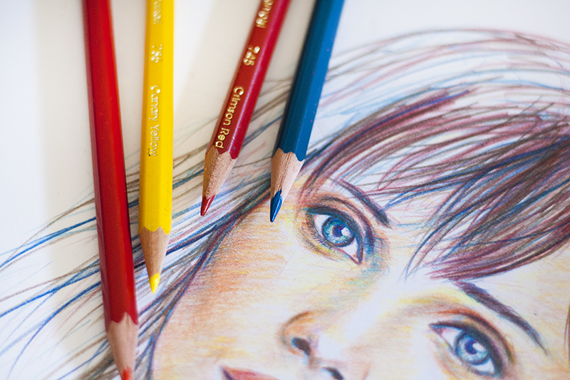Prismacolor Verithin Pencils, Prismacolor, Lumière & Lens, Drawing