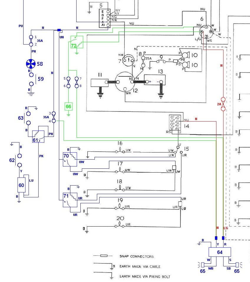 small resolution of triumph tr4a wiring diagram