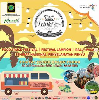 Trisik Festival 2018 Hadirkan Food Truck Festival, Festival Lampion dan Penyelamatan Penyu
