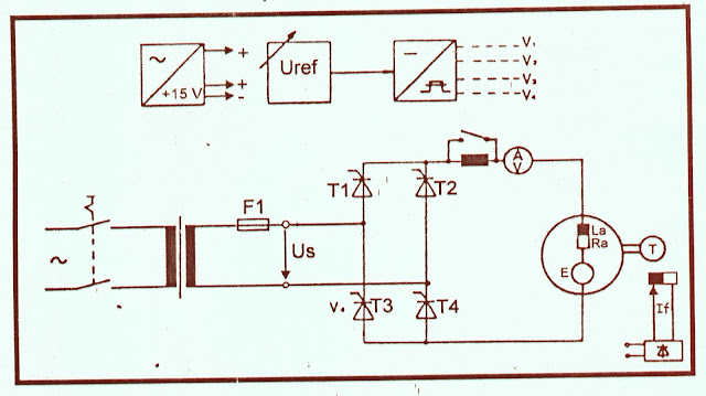 Job Sheet Elektronika Daya - Percobaan Pengendalian Kecepatan Putaran Motor DC Penguat Terpisah