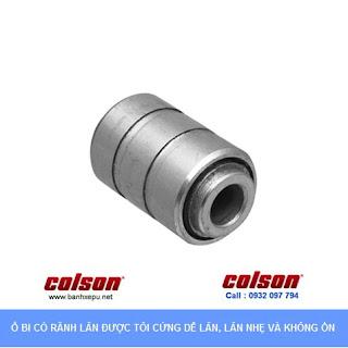 Bánh xe lắp trục ren bánh xe đẩy chịu tải trọng (82~122kg) sử dụng ổ bi