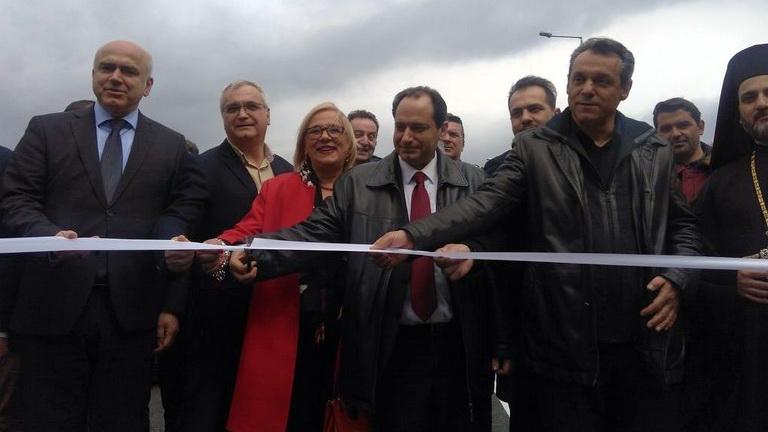 Στην κυκλοφορία παραδόθηκε ο κάθετος άξονας Κομοτηνή - Νυμφαία - Ελληνοβουλγαρικά σύνορα