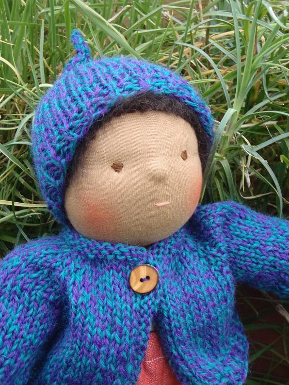Nestled Under Rainbows: Free Waldorf Doll Clothes Knitting ...
