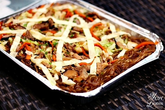 Chap Chae by The Party Kitchen Food Delivery Service Manila PH