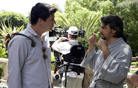 Eugenio Derbez and Ken Marino on the set of How to be a Latin Lover (25)