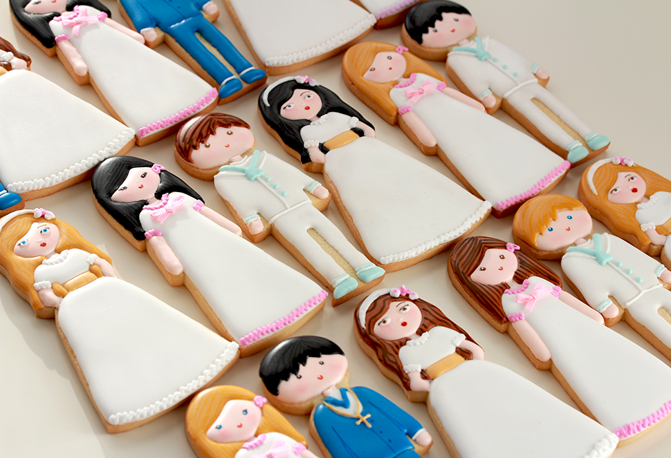 Galletas decoradas comuniones