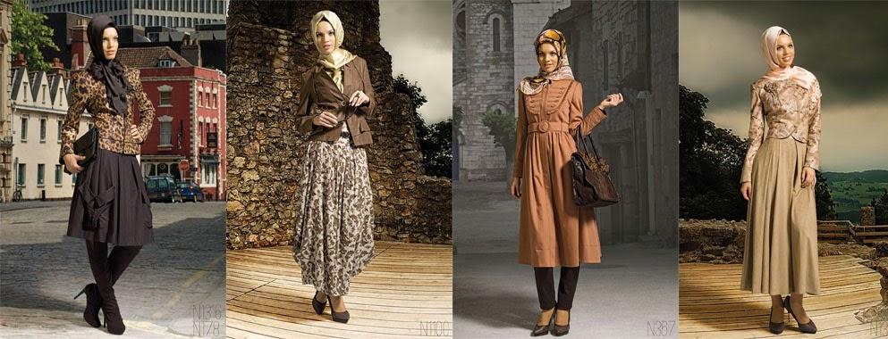 Contoh Model Baju Muslim Kerja Modern