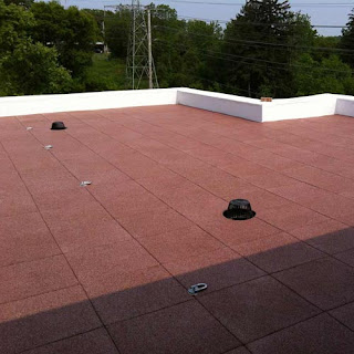 Greatmats rubber rooftop tiles