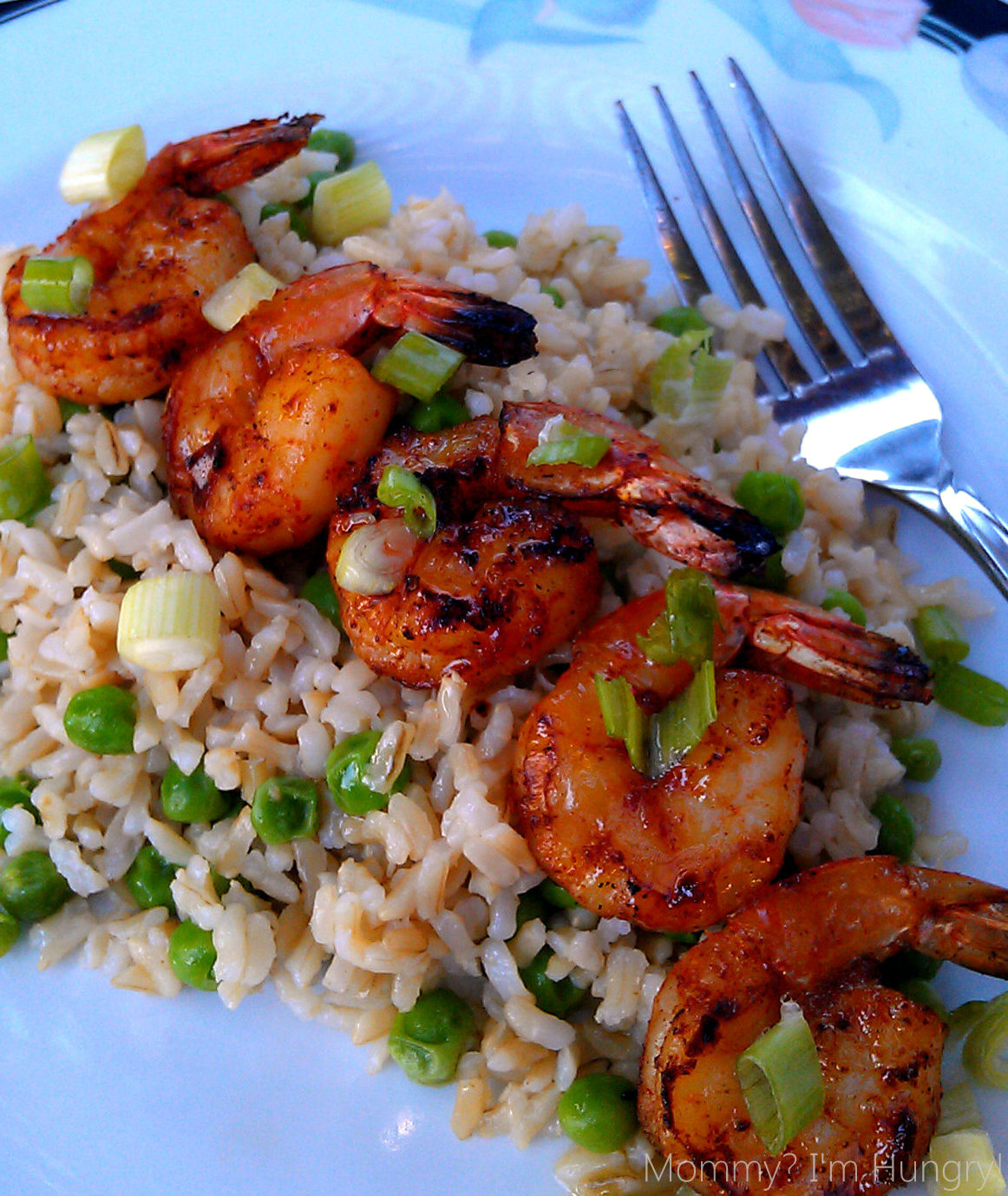 MIH Recipe Blog: Grilled Shrimp With Brown Butter And Rice