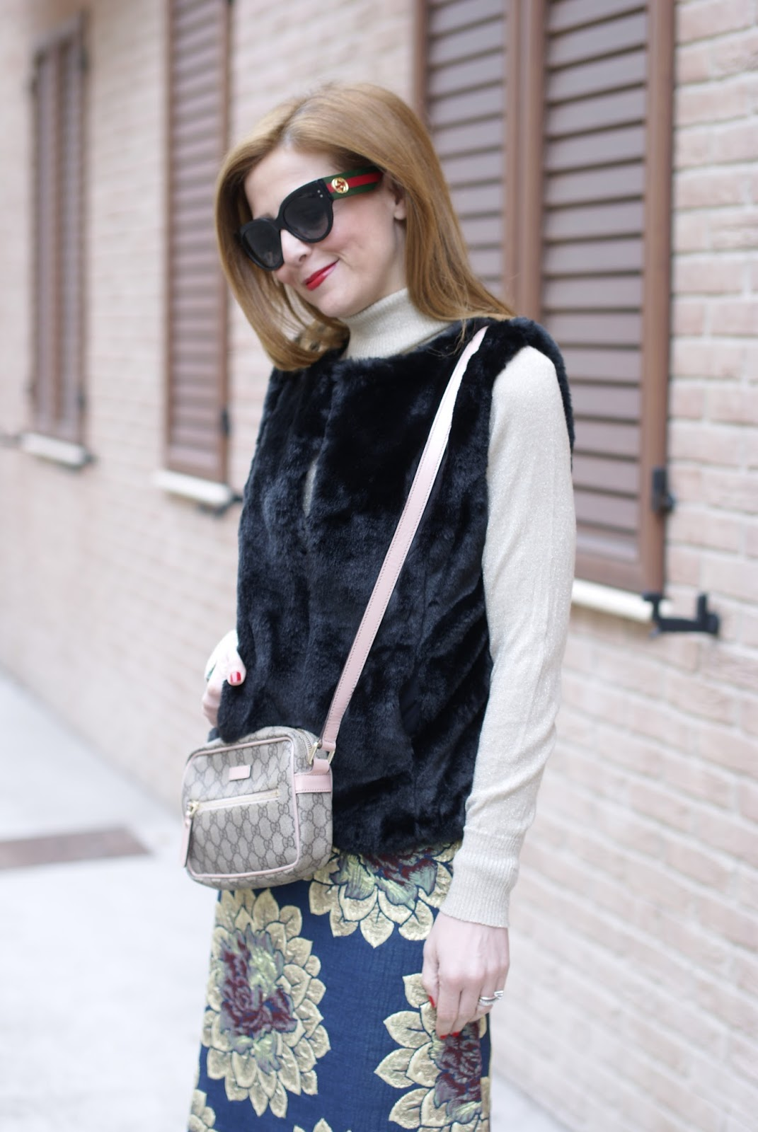 Gucci sunglasses on Fashion and Cookies fashion blog, fashion blogger style