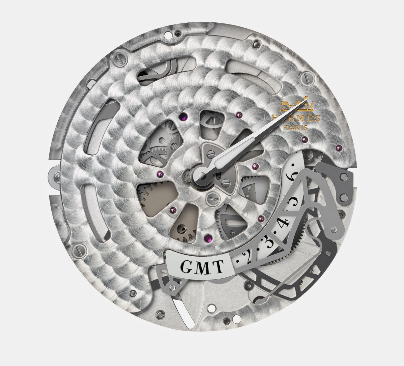 Hermès mechanical self-winding movement H1925