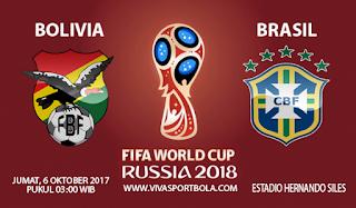 Prediksi Bolivia vs Brasil 6 Oktober 2017