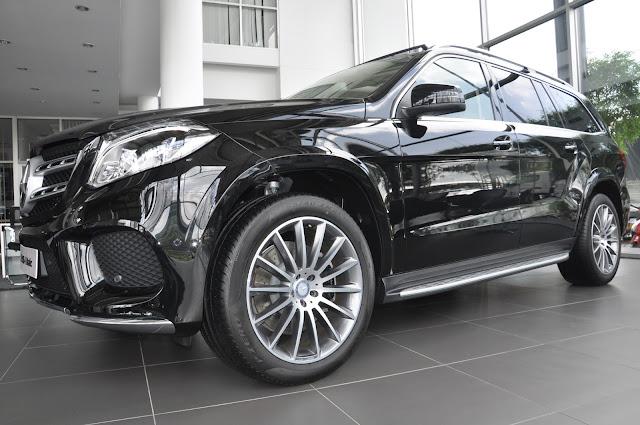 Mercedes GLS 500 4MATIC thiết kế thể thao, mạnh mẽ