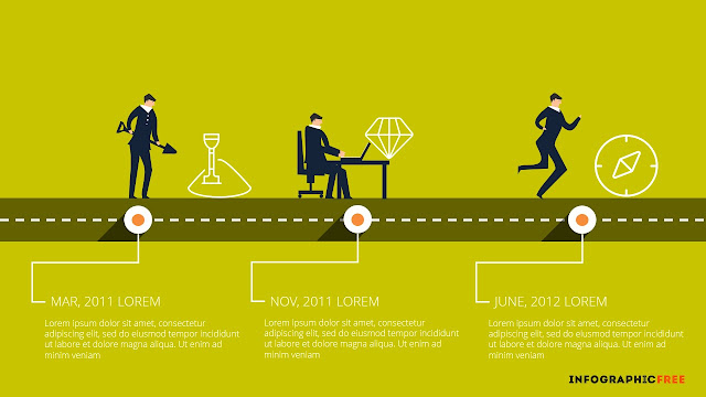 Develop Timeline-infographic.