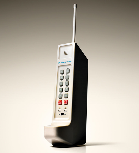 First Versions Motorola Cellphone