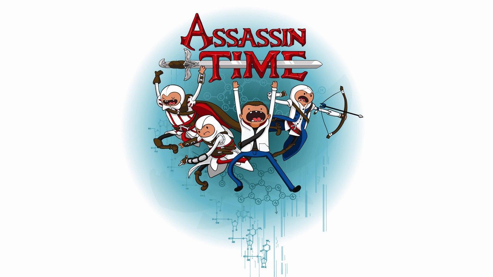 Hora de Aventuras: Hora de Aventuras como Assassin Creed