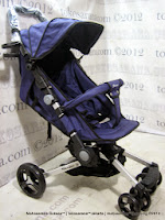 Kereta Bayi LightWeight BabyElle BS703AL Smart - Purple