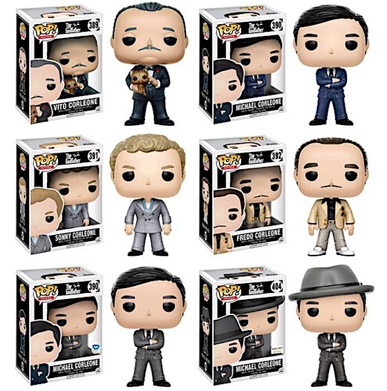 The Godfather Pop!Vinyls from Funko Coming in February! ad757c111fce