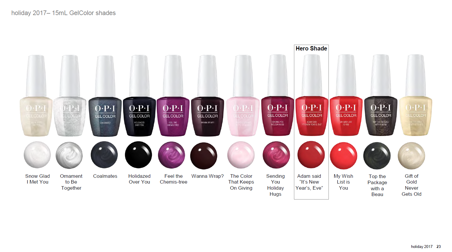 OPI Gel Color seasonal collection LOVE OPI, XOXO limited edition ...