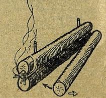 как разжечь нодью
