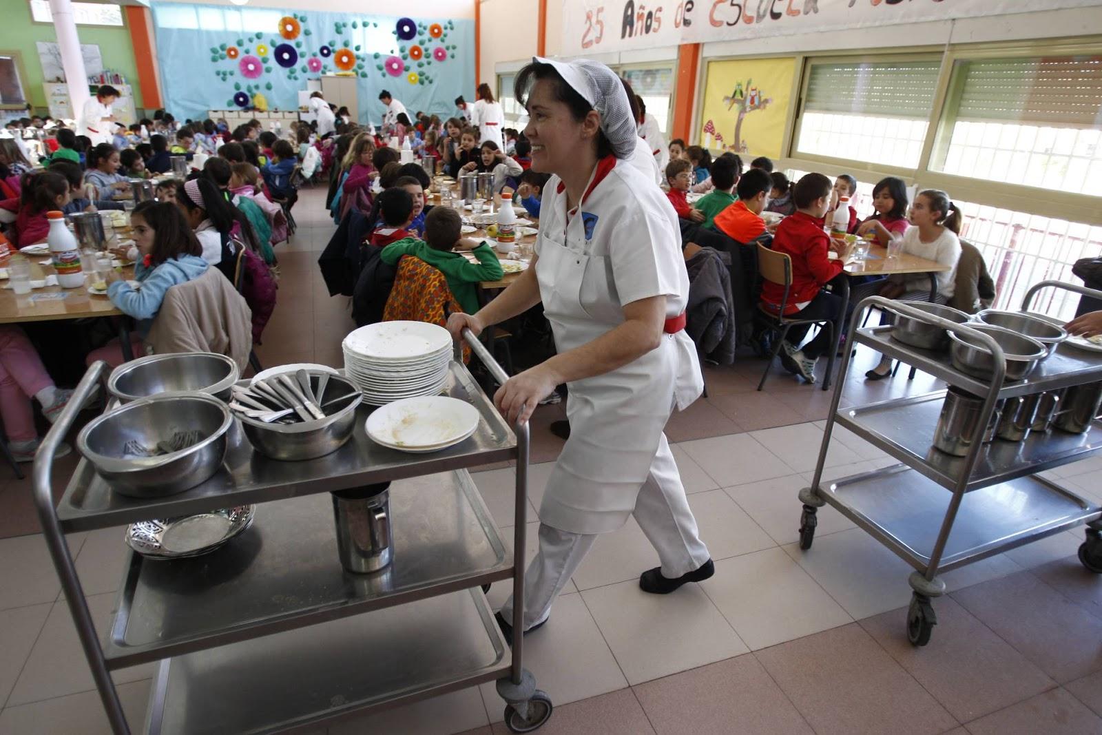 Las becas de comedor llegan a alumnos pero a n son menos que antes de la crisis san - Becas comedor 2017 ...