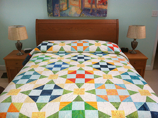 Calypso Quilt Free Pattern