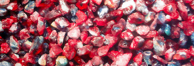 Ruby and sapphire mined in Mogok