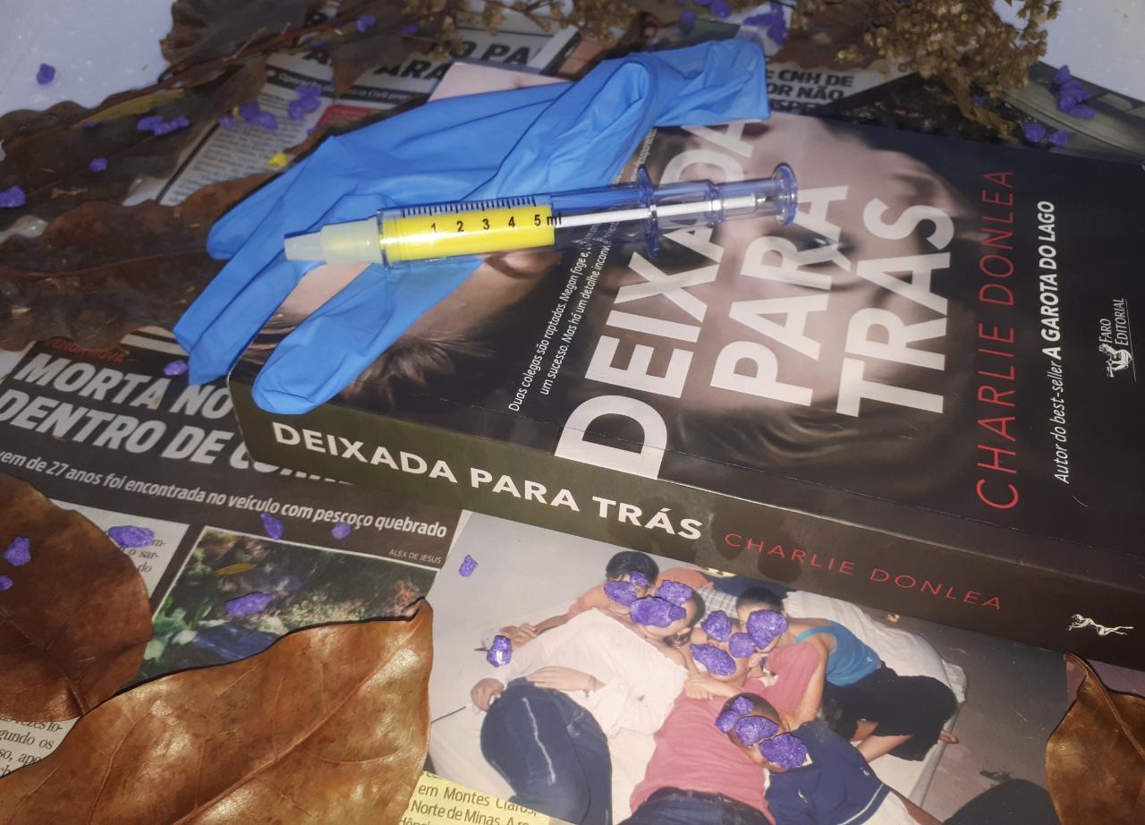 { #RESENHA } DEIXADA PARA TRÁS- CHARLIE DONLEA