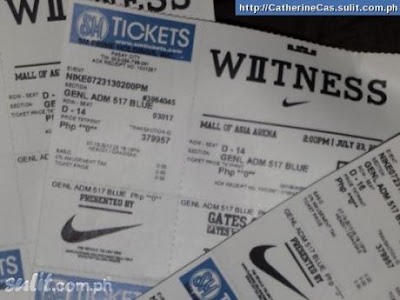 Lebron James Manila Tickets