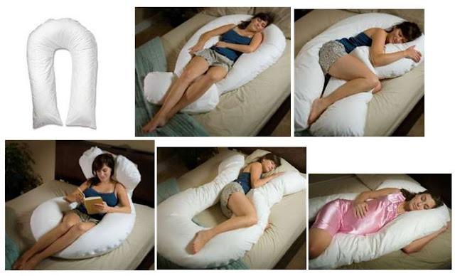 Comfort U Total Body Pillow Full Support Pillow Cu9000