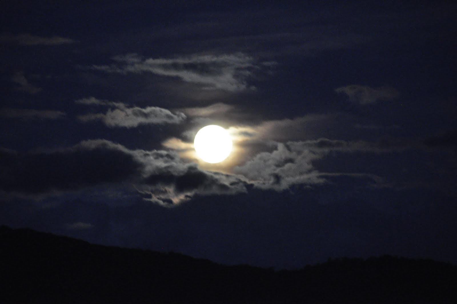 A beautiful harvest moon over a star ...   Stock Photo ...   Full Moon Reflecting Off Water