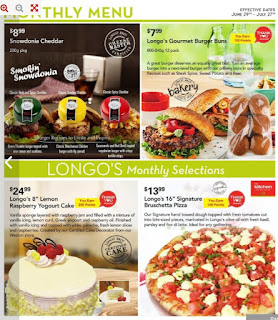 Longos Flyers Canada June 29 - July 27, 2017