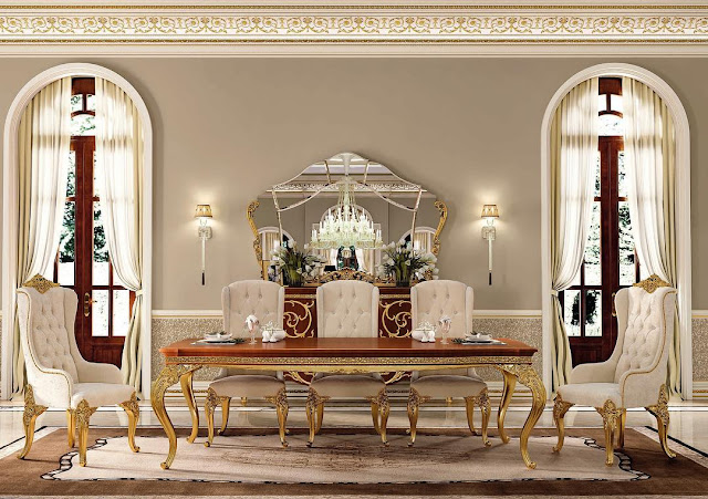 Luxury Classic Dining Table