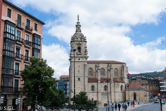 Iglesia de San Anton. Segunda parroquia de Bilbao